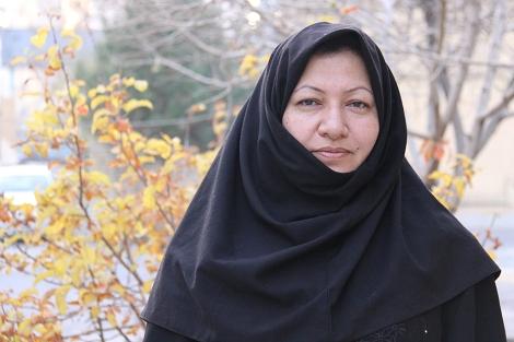 Sakineh Ashtiani, en una entrevista concedida el pasado sábado a una TV oficial iraní.