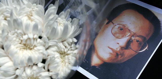 Fotografía de Liu Xiaobo, Nobel de la Paz 2010. | Reuters