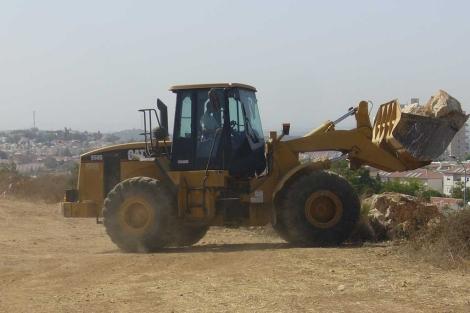 La construcción en los asentamientos se reanudó tras la moratoria de diez meses. | S. Emergui