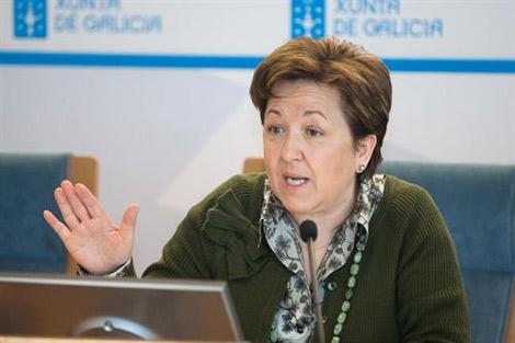La conselleira de Sanidade, Pilar Farjas. | Xoán Crespo