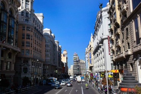 La Gran Vía de Madrid. | Foto: Antonio heredia
