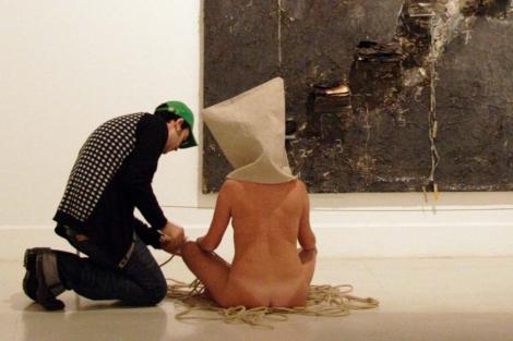 Imagen del modelo que forma parte de la obra. | ELMUNDO.es
