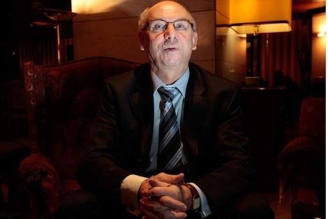 El comisario Janusz Lewandowski, durante la entrevista.| Begoña Rivas