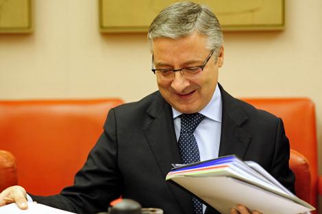 José Blanco, ministro de Fomento y responsable de Vivienda del Gobierno.   Bernardo Díaz