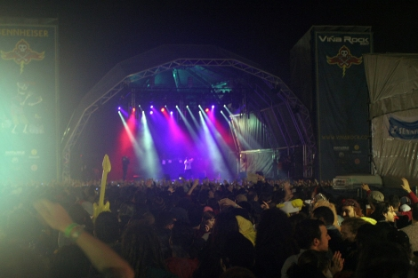 Escenario del Viña Rock celebrado en Benicàssim. | E.M.