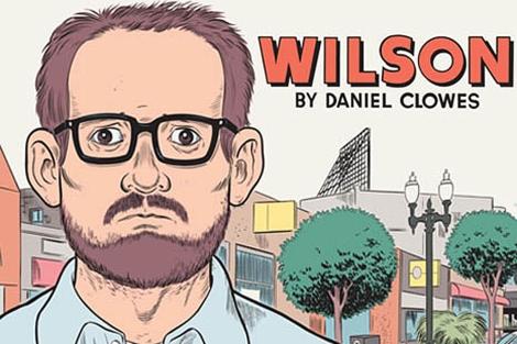 Portada de la novela gráfica 'Wilson', de Daniel Clowes.