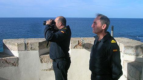 Vigilancia en Alborán.