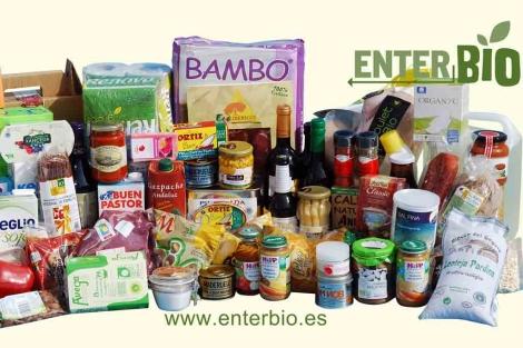 Productos ecológicos distribuidos por EnterBio.