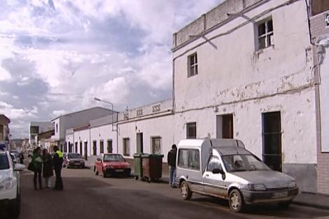 Imagen de la casa donde la niña permaneció desde septiembre.