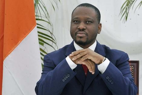 Guillaume Soro es el primer ministro del Gobierno del presidente electo.   Afp