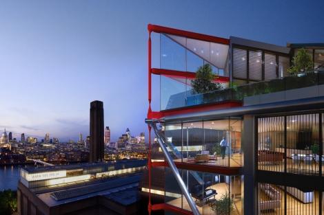 Uno los futuros complejos urbanísticos más importantes de la zona: el Neo Bankside. | EM