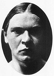 El poeta Georg Trakl.