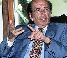 Carlos Andrés Pérez, en 1996. | F. B.