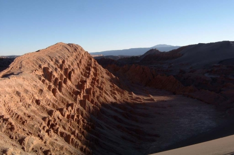 El valle de la Luna visto cerca de San Pedro de Atacama.   ELMUNDO.es