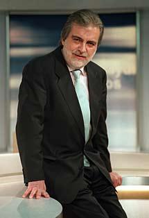 El periodista, en 2002.   J. Martínez