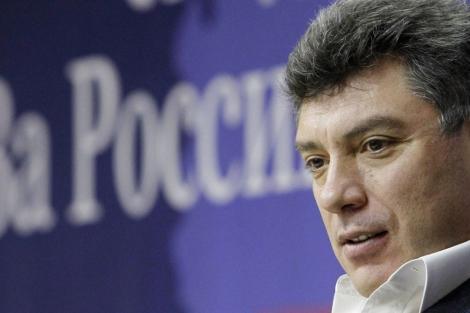 El líder opositor Borís Nemtsov en Moscú. | Reuters