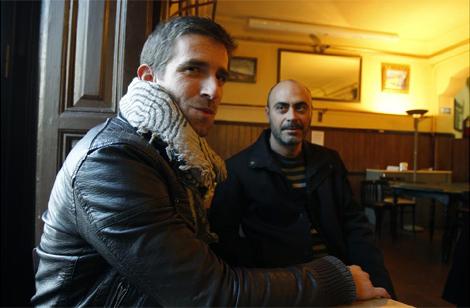 Daniel Ruiz y Juan Luis Martín, de 'Madrileños por el mundo'. (Foto: Javier Barbancho)