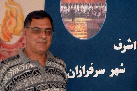 Imagen de Saremi publicada por el Consejo Nacional de la Resistencia Iraní.| Reuters