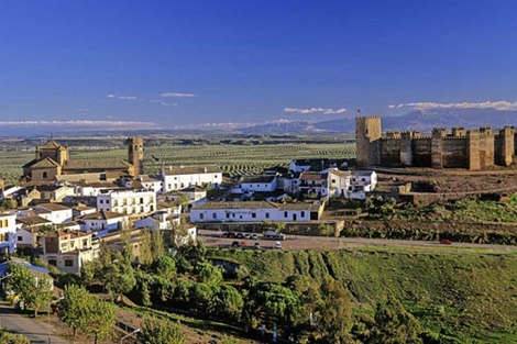 Vista de Baños de la Encina, en Jaén. | El Mundo