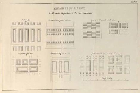 150 Años Del Plan Castro El Proyecto Que Triplicó El Tamaño De Madrid Vivienda Elmundo Es