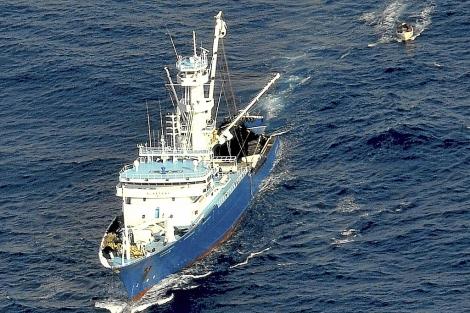 El atunero vasco 'Alakrana' secuestrado en aguas somalíes. | Ministerio de Defensa