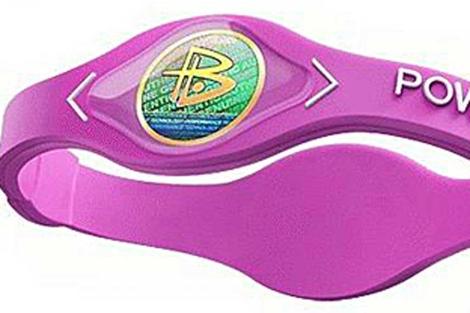 Una pulsera Power Balance.