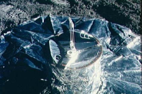 Experimento sísmico en la Luna de la misión 'Apolo' en los 70. | NASA/JSC