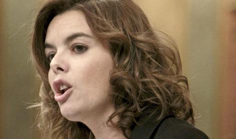 Soraya Sáenz de Santamaría. | ELMUNDO.es