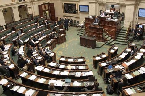 El parlamento de Bélgica el pasado 23 de diciembre. | Efe