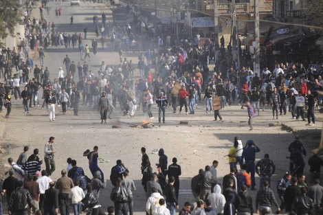 Protestas en Orán por el incremento de los precios. | Efe