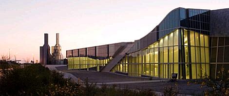 Exterior del edificio del Archivo de Galicia. | CDC