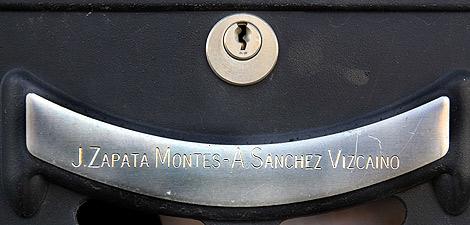 Buzón de la correspondencia de la familia Zapata. | R. Blanco