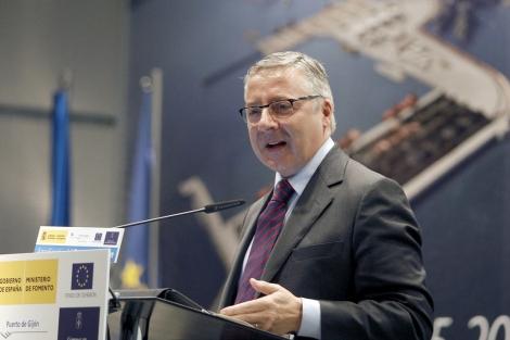 El ministro de Fomento, José Blanco, en una de sus últimas apariciones públicas. | Efe
