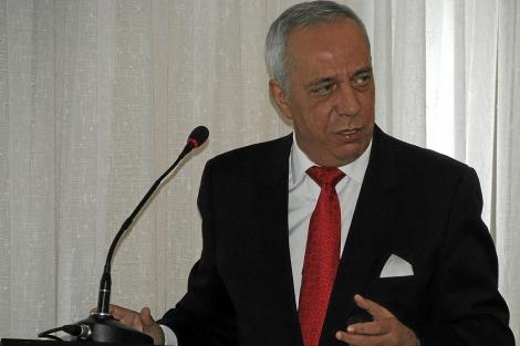 David Taguas, presidente de Seopan.   Cristóbal Lucas