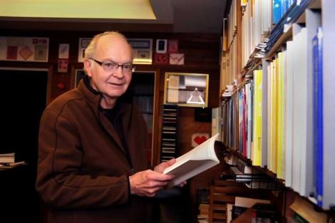 Donald E. Knuth, en su residencia estadounidense. | Fundación BBVA.