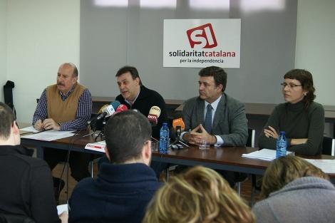 Presentación de Solidaritat Catalana per la Independència en Valencia. | E.M.