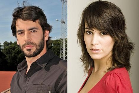 Eduardo Noriega y Celia Freijeiro