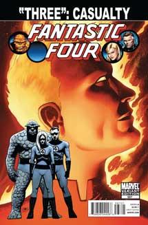 Portada de 'Three'. | Ap / Marvel
