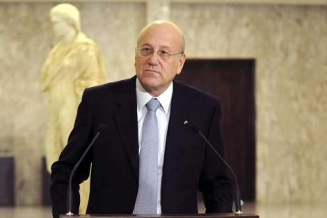 El flamante primer ministro libanés, Najib Miqati. | Ap