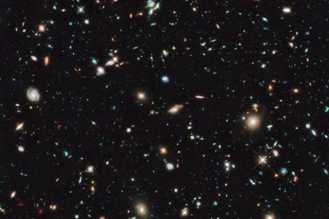 Imagen obtenida por el telescopio Hubble. |NASA/ESA/G.Illingworth/R.Bouwens/HUDF09 Team