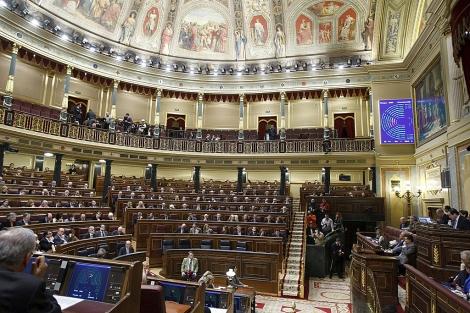 El Congreso de los Diputados en un momento de votación. | Efe