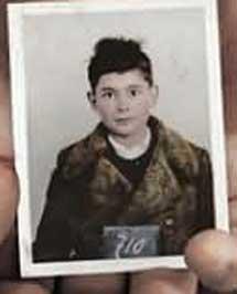 Ladislaus Löb, de niño.