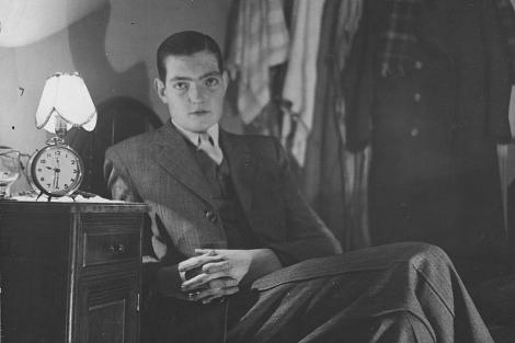 Julio Cortázar, en Buenos Aires, en 1938. | EL MUNDO