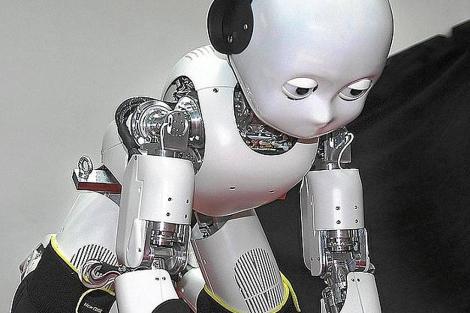 El robot iCub puede gatear, ponerse de pie, coger objetos y mover los ojos   E.M.