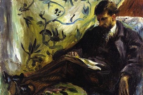Un detalle de 'El lector', de Pierre Auguste Renoir (1879).