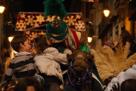 Una imagen de la Cabalgata de 2010 en Alcoy. | Jordi Orts