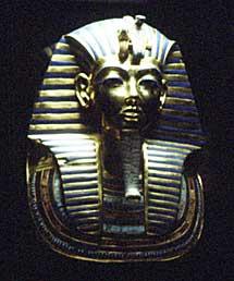 La máscara de Tutankhamon.