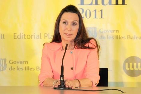 Nuria Amat, poco después de fallarse el premio   ELMUNDO.es