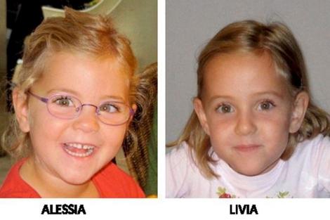 Las dos hermanas desaparecidas, Alessia y Livia. | Efe