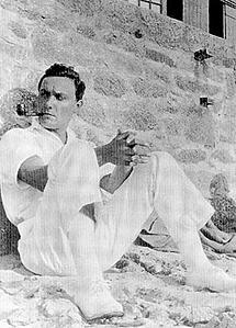 García Benito en 1920.
